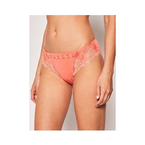 Simone Pérèle Klasické nohavičky Wish 12B720 Oranžová Simone Perele