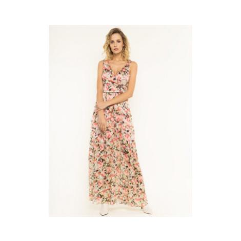 Pinko Letné šaty Hasko 20201 PBK2 1B14FZ 8062 Farebná Regular Fit
