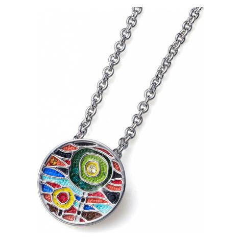 Oliver Weber Viacfarebný náhrdelník Art Small