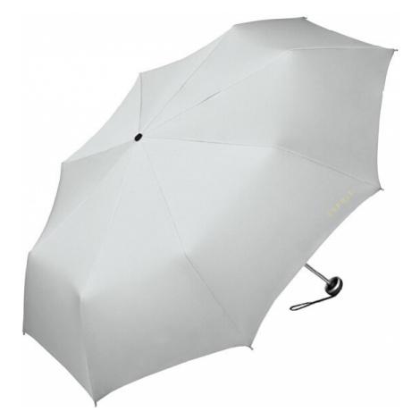 Esprit Skladací mechanický dáždnik Mini Alu Light Gray Violet