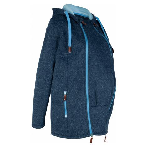 Materská flísová bunda na nosenie detí bonprix