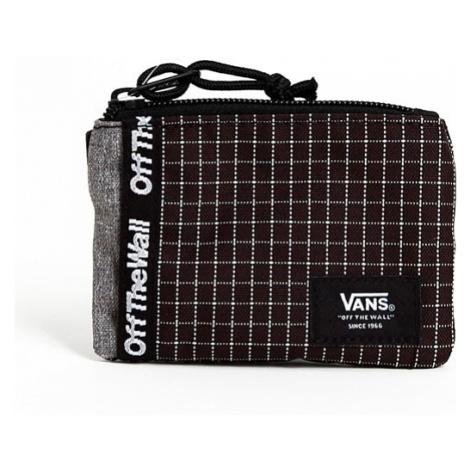 Peňaženka Vans MN VANS POUCH WALLET BLACK/WHITE - Veľkosť:UNI