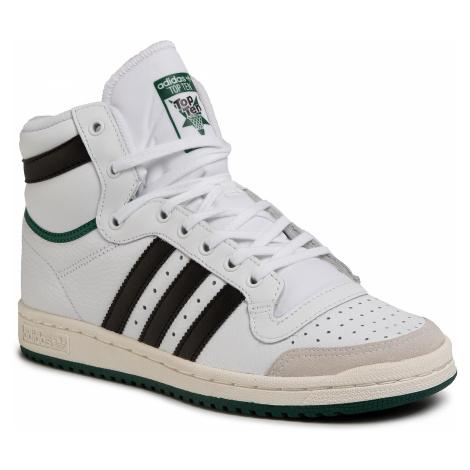 Topánky adidas - Top Ten Hi EF6364 Ftwwht/Cblack/Cgreen