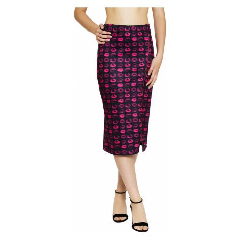 Culito from Spain čierno-ružová sukňa pod kolená Bebe