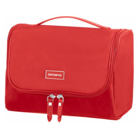Samsonite Kozmetická taška Karissa CC - červená