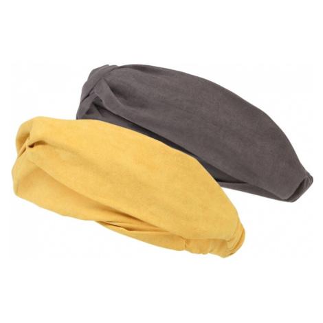 ABOUT YOU Bižutéria do vlasov 'Eleni'  žltá / sivá
