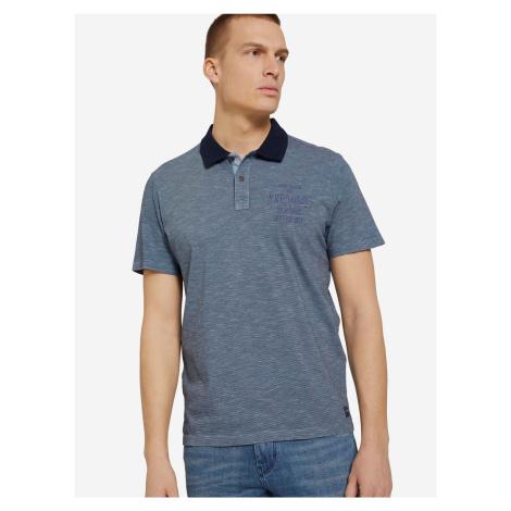 Polo triko Tom Tailor Modrá