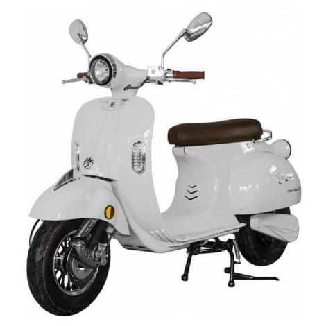 Elektrický motocykl RACCEWAY CENTURY, bílý-lesklý