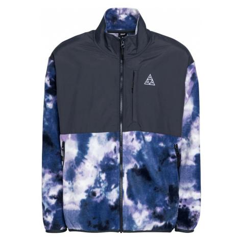 HUF Prechodná bunda 'POLARYS'  fialová / námornícka modrá / biela