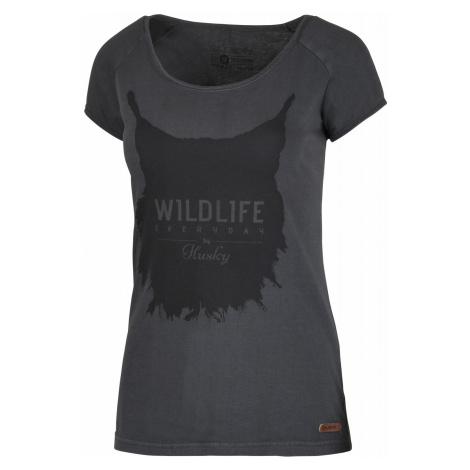 Husky Lynx čierný mentol, Dámske tričko