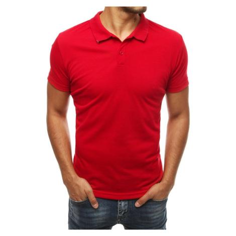 Men's red polo shirt PX0312 DStreet