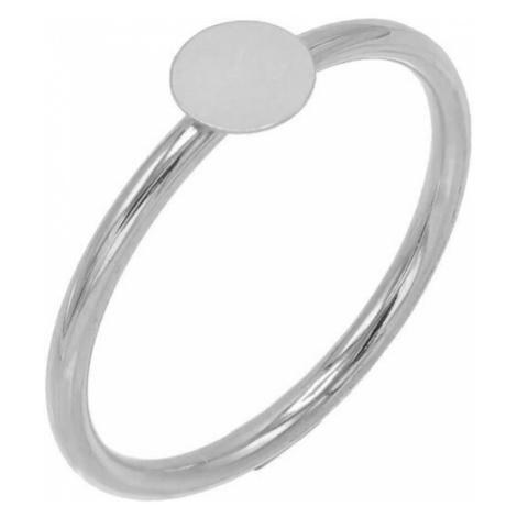 JVD Strieborný minimalistický prsteň SVLR0245XH200 mm