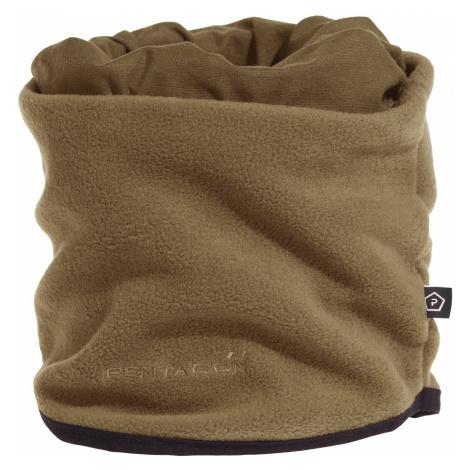 Multifunkčná šatka - pokrývka hlavy - nákrčník PENTAGON® Winter Neck Scarf 0,5 fleece - coyote