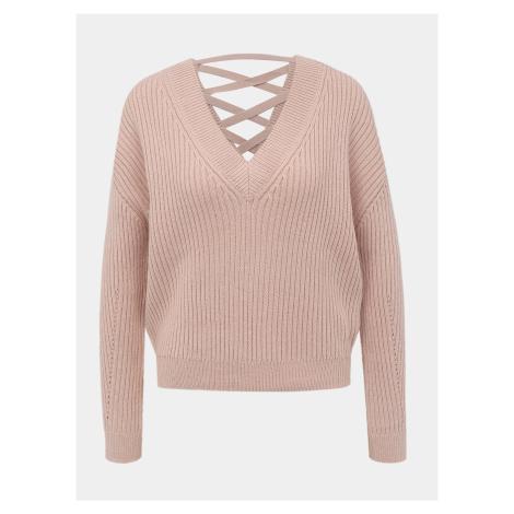 Svetlo ružový sveter TALLY WEiJL