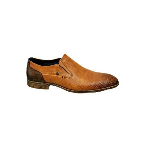 Hnedá slip-on spoločenská obuv Venice