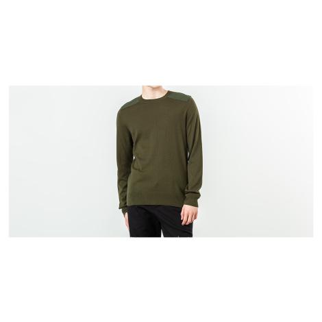 A. P. C. Ernest Military Sweatshirt Military Green A.P.C.