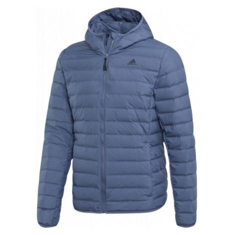 adidas VARILITE SOFT H modrá - Pánska bunda