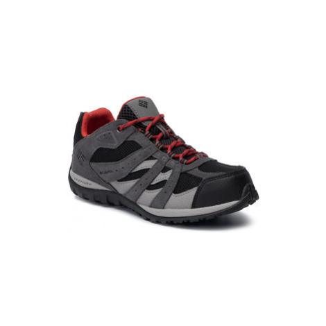 Columbia Trekingová obuv Youth Redmond Waterproof BY2857 Čierna
