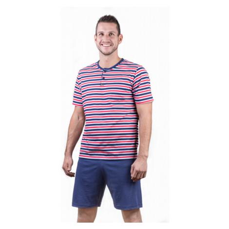 Pánské pyžamo krátké Lady Belty 17V-031324 - barva:BELMAR/námornícka