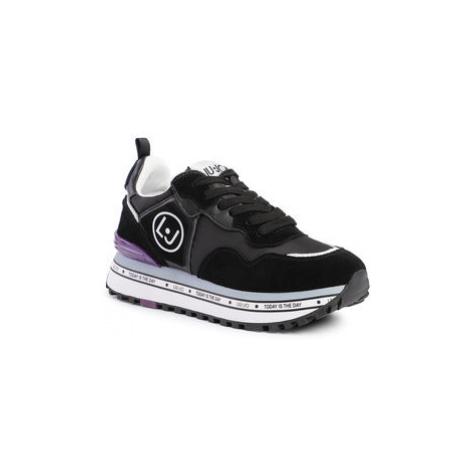 Liu Jo Sneakersy Maxi Alexa BXX051 PX071 Čierna