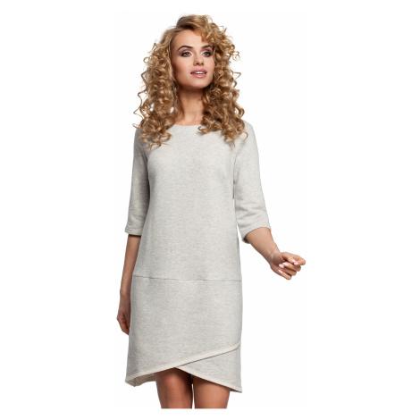 Svetlosivé šaty MOE 292
