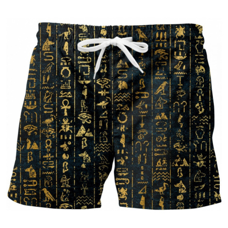 Men's swimwear Mr. GUGU & Miss GO Hieroglyphs