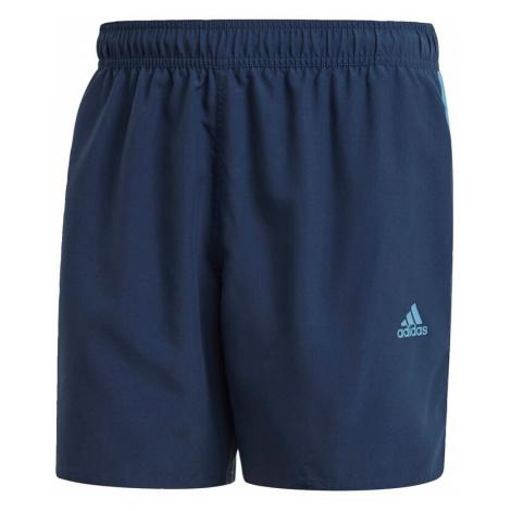 ADIDAS PERFORMANCE Športové plavky - spodný diel  biela / námornícka modrá / tyrkysová / sivá