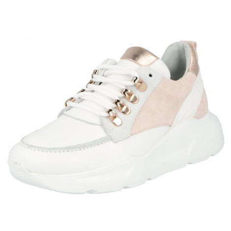 Steven New York Nízke tenisky 'GWEN'  ružová / ružové zlato / biela
