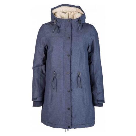Lotto PAULINA tmavo modrá - Dámsky kabát