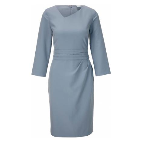 heine Puzdrové šaty  modrosivá