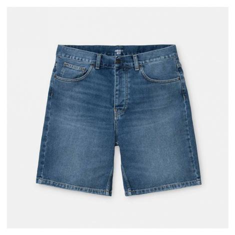 Carhartt Newel Short Cotton I027951 BLUE WORN Carhartt WIP