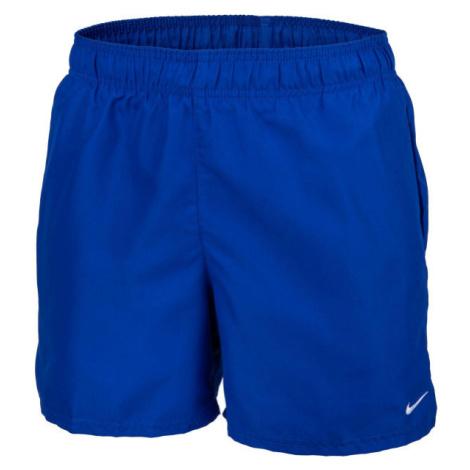 Nike ESSENTIAL SCOOP modrá - Pánske kúpacie kraťasy