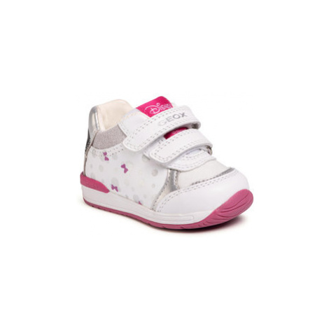 Geox Sneakersy B Rishon G. C B020LC 085AS C0007 Biela