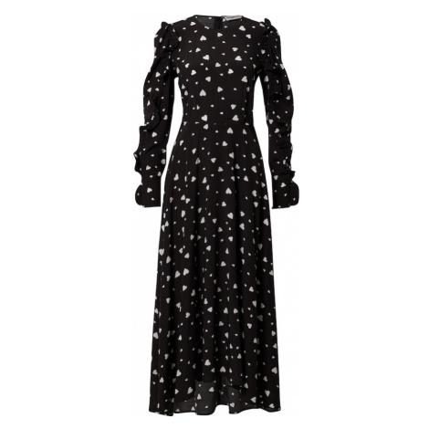 Essentiel Antwerp Košeľové šaty 'Zangle'  čierna / biela