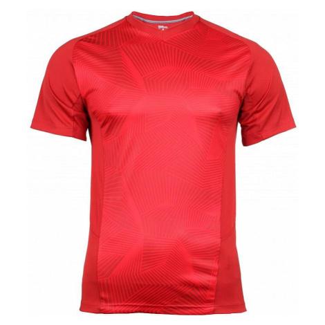Solana Geometric pánské triko barva: červená;velikost oblečení: S Wilson