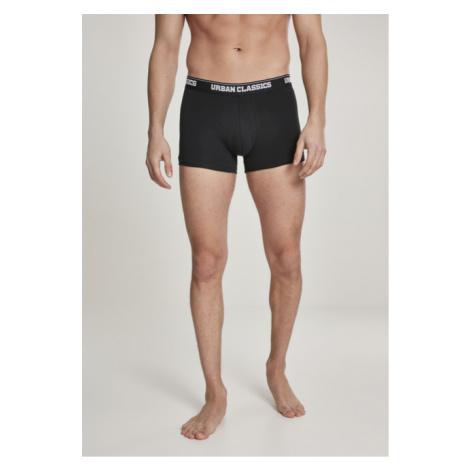 Urban Classics Mens Boxer Shorts Double Pack blk/blk - Veľkosť:XL/7