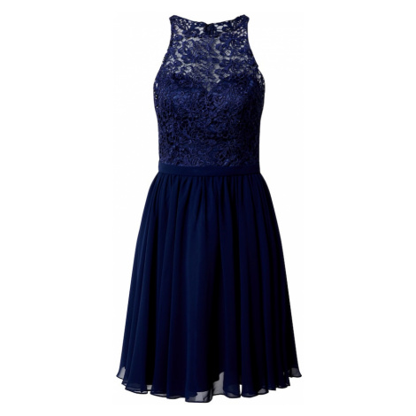 mascara Kokteilové šaty  námornícka modrá