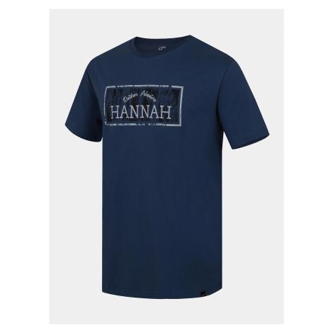 Modré pánske tričko s potlačou Hannah Waldorf