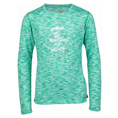 Head MAUI zelená - Dievčenské tričko s dlhým rukávom