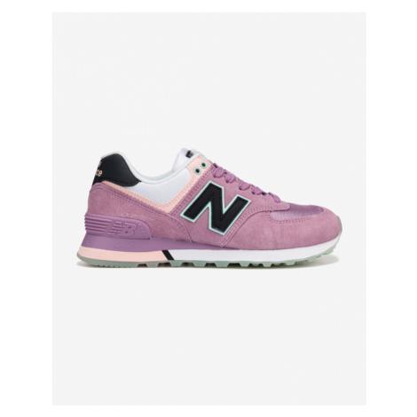 New Balance 574 Tenisky Ružová Fialová