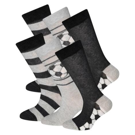 EWERS Ponožky  čierna / sivá