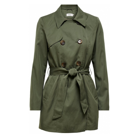 ONLY Prechodný kabát 'VALERIE'  olivová