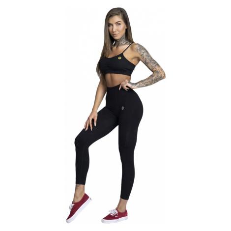 Gym Glamour Legíny bezšvíkové čierne
