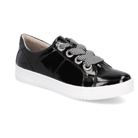 Jana Športová šnurovacia obuv čierna