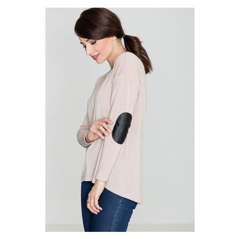 Lenitif Woman's Sweater K118 Beige