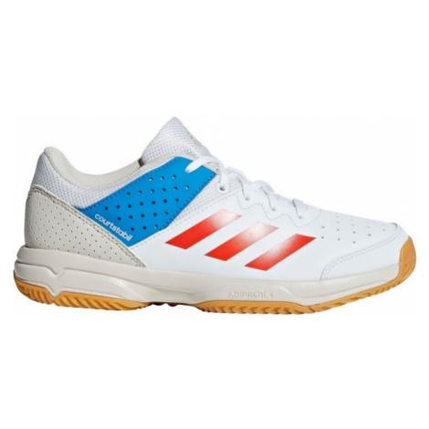 adidas COURT STABIL JR biela - Detská hádzanárska obuv