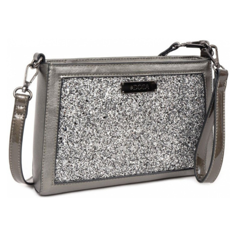 Šedá kabelka – Glitter D . . A