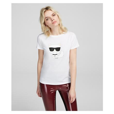 Tričko Karl Lagerfeld Ikonik Choupette T-Shirt