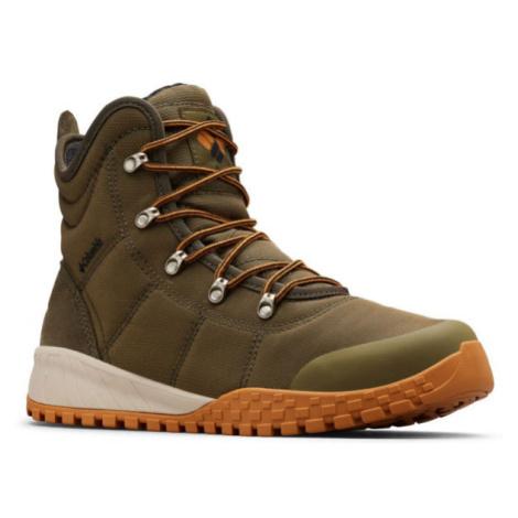 Columbia FAIRBANKS OMNI-HEAT zelená - Pánska zimná obuv