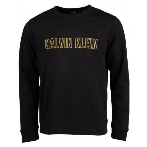 Calvin Klein PULLOVER čierna - Pánsky pulóver